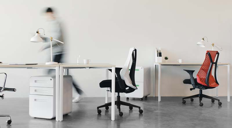 ergonomic workspace