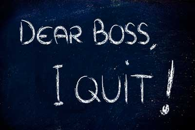 Employee turnover dear boss i quit
